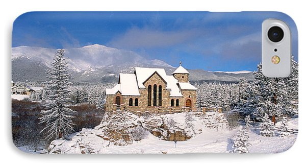 The Chapel On The Rock 3 IPhone Case by Eric Glaser