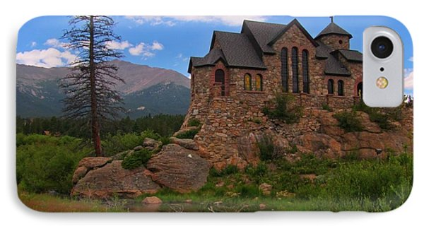The Chapel On The Rock IPhone Case by John Malone