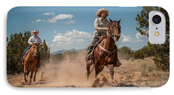 IPhone Case featuring the photograph The Chase by Sherry Davis