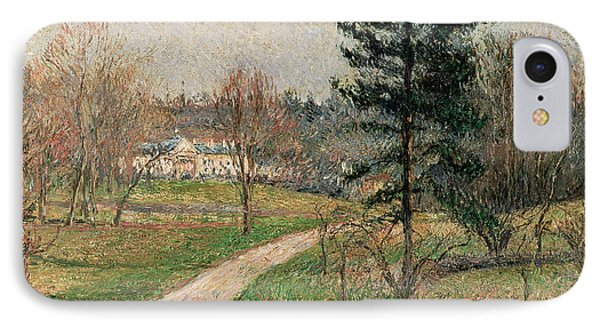 The Chateau At Busagny Phone Case by Camille Pissarro