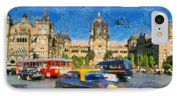 The Chatrapathi Station In Mumbai IPhone Case
