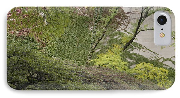 The Chicago Art Institute Wall Vines IPhone Case by Thomas Woolworth