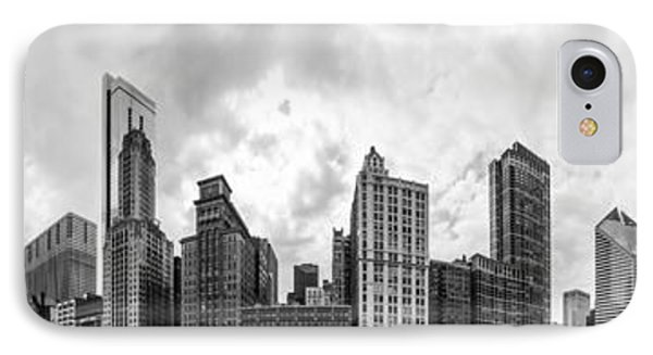 The Chicago Bean And Skyline IPhone Case by Semmick Photo