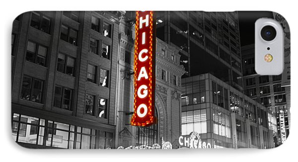 The Chicago Theatre IPhone Case by Jerome Lynch