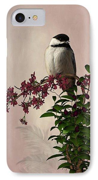 The Chickadee IPhone Case by Davandra Cribbie