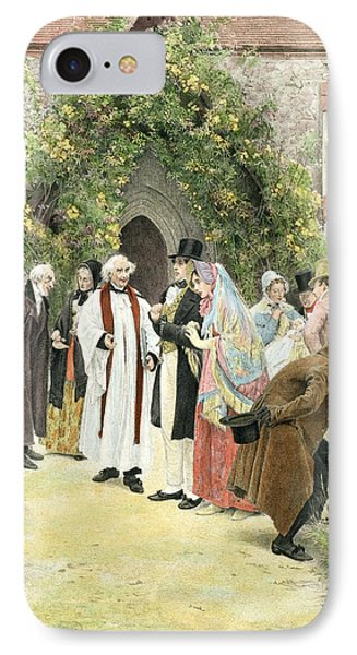 The Christening IPhone Case by Walter Dendy Sadler