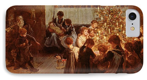 The Christmas Tree IPhone Case by Albert Chevallier Tayler