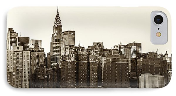 The Chrysler Building And New York City Skyline Phone Case by Vivienne Gucwa