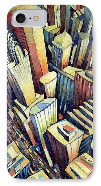 The Chrysler Building IPhone Case by Charlotte Johnson Wahl