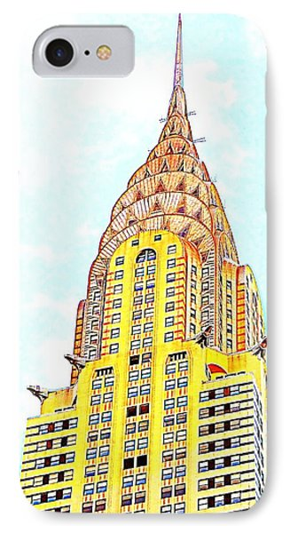 The Chrysler Building Phone Case by Ed Weidman