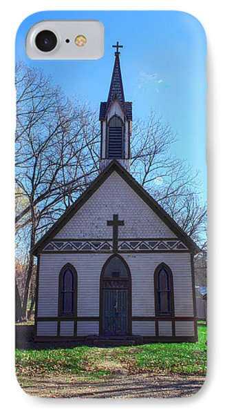 The Church At Billie Creek IPhone Case by Thomas Sellberg
