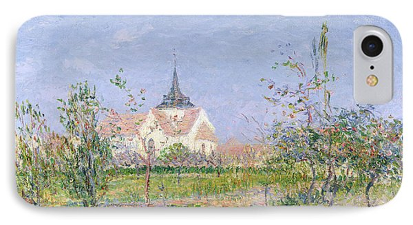 The Church At Vaudreuil Phone Case by Gustave Loiseau