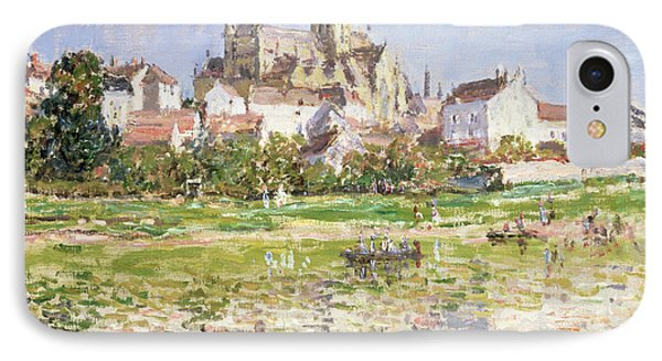 The Church At Vetheuil, 1880 IPhone Case
