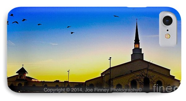 IPhone Case featuring the photograph The Church by Joe Finney