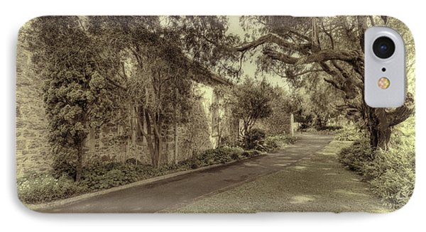 IPhone Case featuring the photograph The Church Lane by Elaine Teague