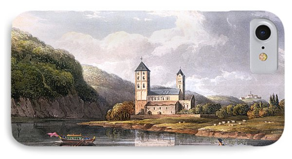 The Church Of Johannes At The Influx IPhone Case by Christian Georg II Schutz or Schuz