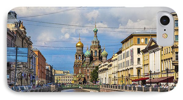 The Church Of Our Savior On Spilled Blood - St. Petersburg - Russia IPhone Case by Madeline Ellis