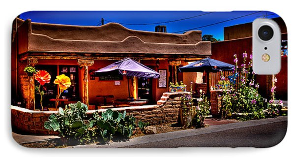 The Church Street Cafe - Albuquerque New Mexico Phone Case by David Patterson