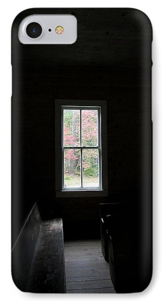 The Church Window IPhone Case by Kathy Long