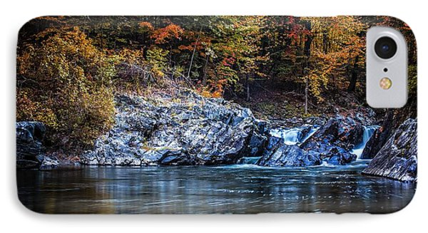 The Chutes Thetford Vermont IPhone Case by Edward Fielding