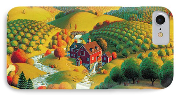The Cider Mill Phone Case by Robin Moline