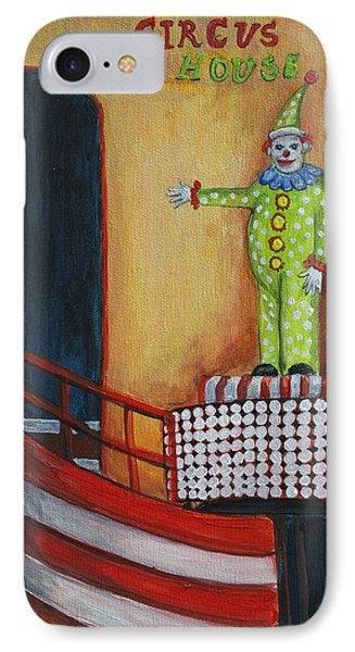 The Circus Fun House IPhone Case by Patricia Arroyo