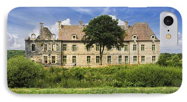 The Cistercian Abbey De Bon Repos Cotes D'armor Brittany France  Phone Case by Jon Boyes