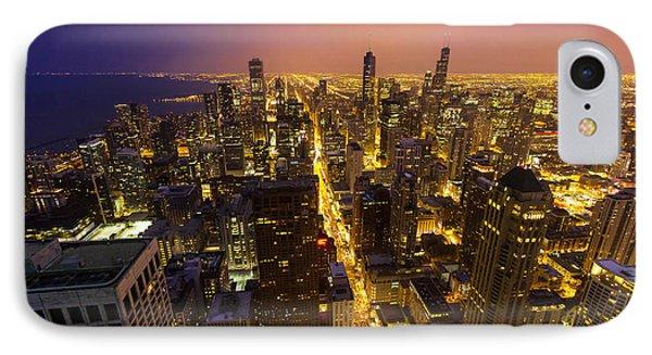 The City Glows IPhone Case by Jackie Novak