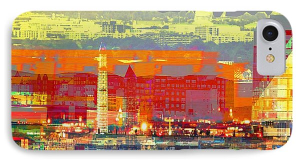 The City IPhone Case by Keven Reynolds