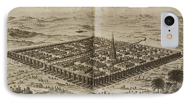 The City Of Babylon. 17th Illustration IPhone Case