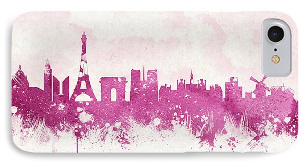 The City Of Love IPhone Case by Aged Pixel