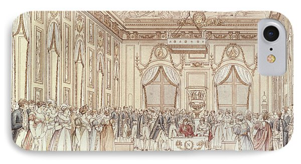 The Civil Ceremony Of The Marriage Of Napoleon Bonaparte 1769-1821 And Marie-louise 1791-1847 IPhone Case