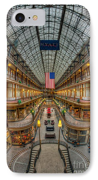 The Cleveland Arcade Vii Phone Case by Clarence Holmes