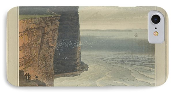 The Cliffs Near The Berryhead At Hoy IPhone Case by British Library