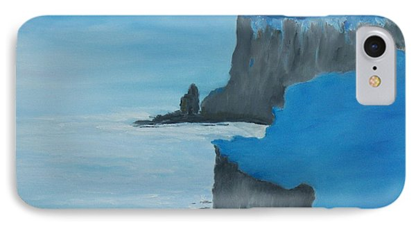 IPhone Case featuring the painting The Cliffs Of Moher by Conor Murphy