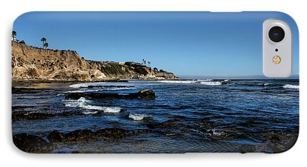 The Cliffs Of Pismo Beach IPhone Case by Judy Vincent