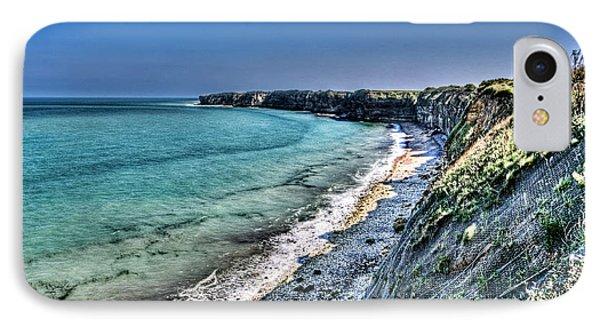 The Cliffs Of Pointe Du Hoc IPhone Case