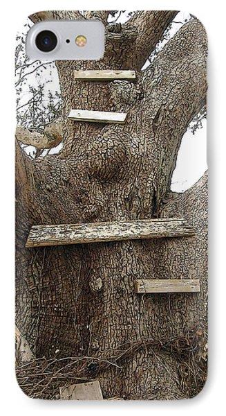 The Climbing Tree - Hurricane Katrina Survivor IPhone Case by Rebecca Korpita
