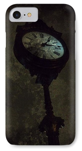 The Clock Of Greenpoint Phone Case by Natasha Marco