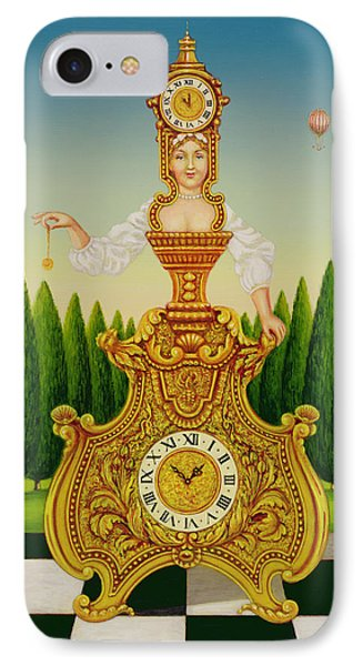 The Clockmakers Wife IPhone Case