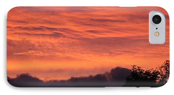 The Clouds On Fire IPhone Case by Patricia Hiltz