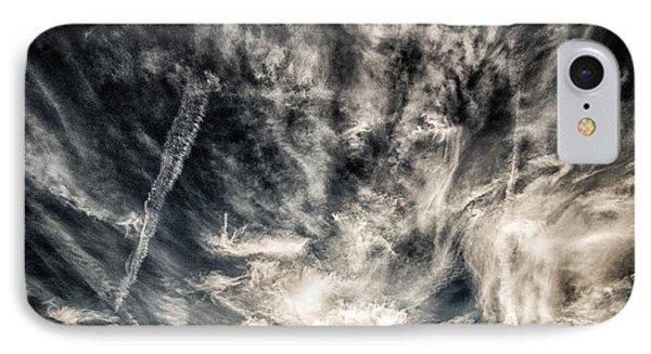 The Clouds Talk IPhone Case