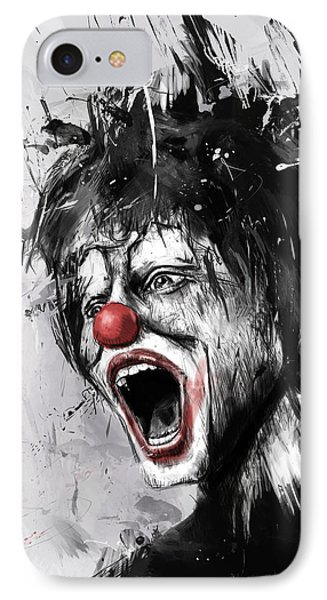 The Clown IPhone Case by Balazs Solti