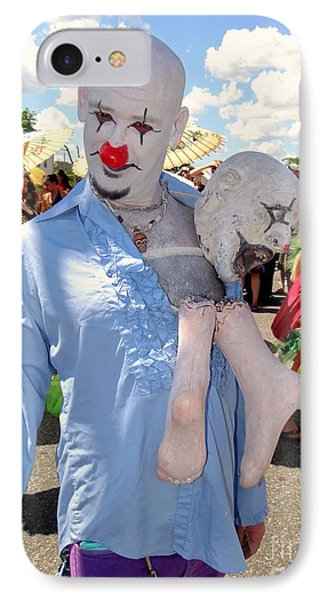 IPhone Case featuring the photograph The Clown by Ed Weidman