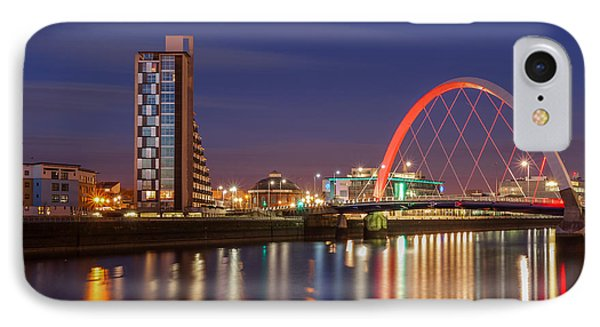The Clyde Arc  IPhone Case by John Farnan