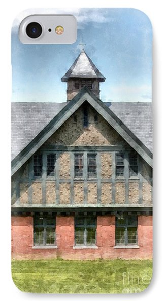 The Coach Barn At Shelburne Farms IPhone Case by Edward Fielding