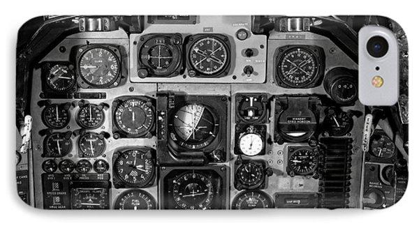 The Cockpit Phone Case by Edward Fielding