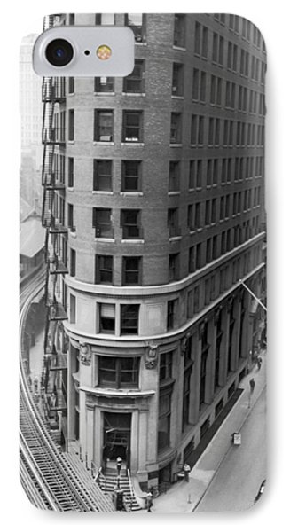 The Cocoa Exchange Building  IPhone Case by Underwood Archives