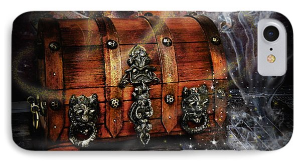 The Coffer Of Spells Phone Case by Alessandro Della Pietra