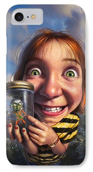 The Collector IPhone Case by Mark Fredrickson